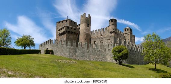 Fenis Castle - Aosta - Italy