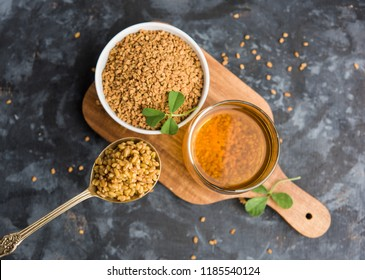 Fenugreek Seeds or Methi Dana drink by soaking it in water overnight. helpful in weight loss, digestion and blood sugar treatment
