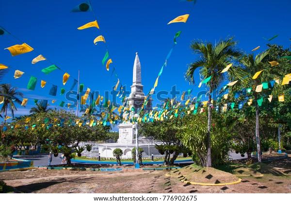Ferdinand Magellan Shrine in Cebu City, Philippines.
