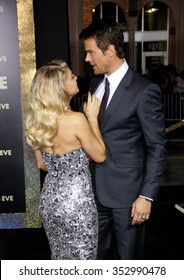 """Fergie and Josh Duhamel at the Los Angeles Premiere of """"New Year's Eve"""" held at the Grauman's Chinese Theater, California, United States on December 5, 2011."""