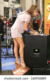 Fergie on stage for NBC Today Show Concert Series with BLACKEYED PEAS, Rockefeller Center, New York, NY, June 03, 2005
