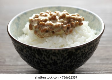 Fermented Soybeans over Rice