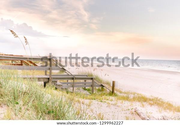 Fernandina Beach on Amelia Island, Florida