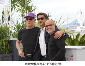"Fernando Signorini, Asif Kapadia and Daniel Arcucci attend the photocall for ""Diego Maradona"" during the 72nd annual Cannes Film Festival on May 20, 2019 in Cannes, France."