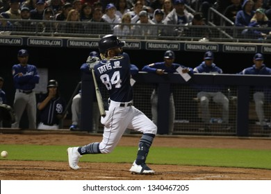 Fernando Tatis Jr. shortstop for the San Diego Padres at Peoria Sports Complex in Peoria, Arizona/USA March 15,2019.