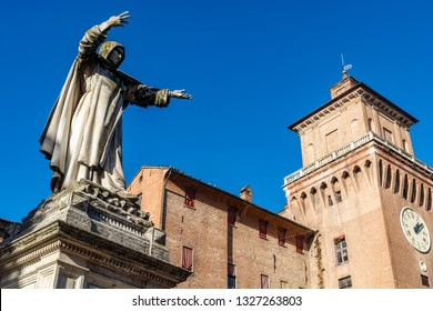 Ferrara town in Italy. Beautiful place where for a while nicolaus copernicus lived.