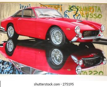 Ferrari Airbrush