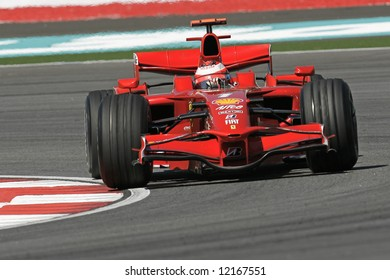 Ferrari's Finnish F1 driver Kimi Raikkonnen