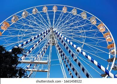 Ferris ring located in Limassol, Cyprus