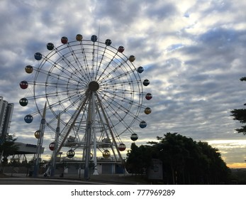 Ferris Ferris theme park I-City during the day