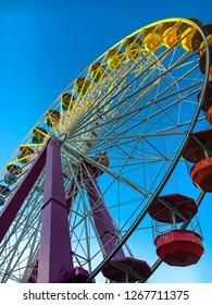 Ferris wheel at the Amusement Park