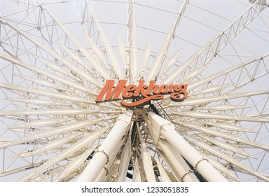 Ferris wheel at asiatique the riverfront thailand
