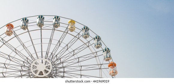 Ferris wheel background