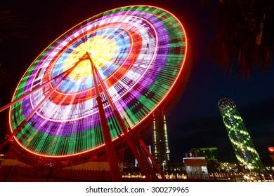Ferris wheel in Batumi, Georgia