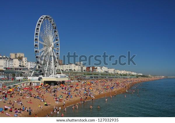 Ferris wheel in Brighton