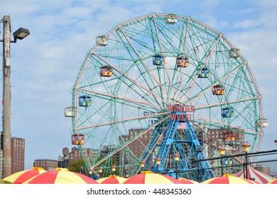Ferris wheel Coney Island