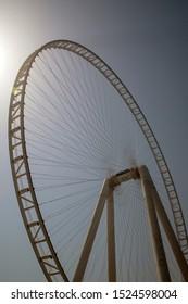 a ferris wheel in dubai