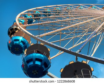 Ferris wheel at the fair in southern Germany