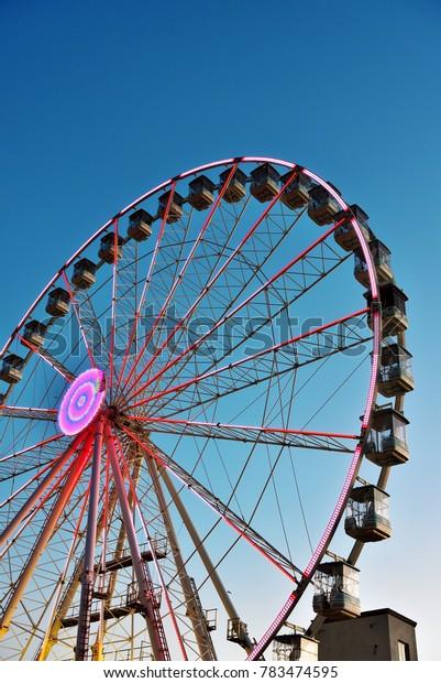 Ferris wheel of Genoa