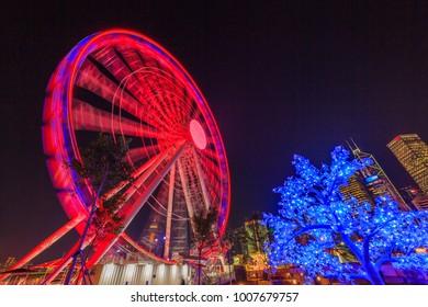Ferris wheel in Hong Kong, Hong Kong Observation Wheel.