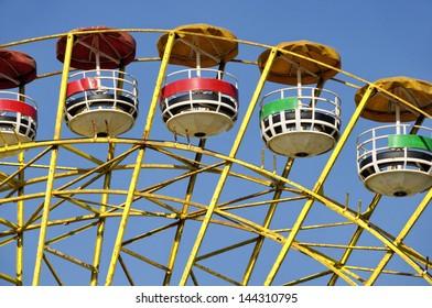 Ferris wheel in Luna Park along the Corniche, Beirut, Lebanon, Middle East