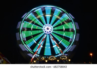 Ferris wheel in Medulin, Croatia