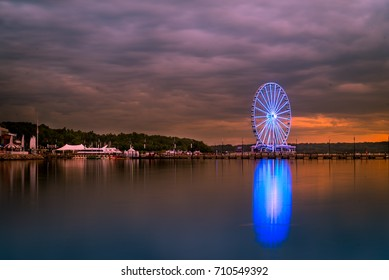 Ferris wheel at National Harbor in Washington DC