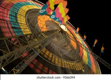 Ferris Wheel - Night Scene 4 of 4