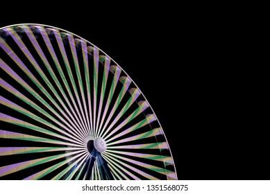 Ferris wheel on a fairground
