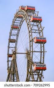 Ferris wheel on Prater, Vienna, Austria