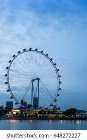 ferris wheel skyline
