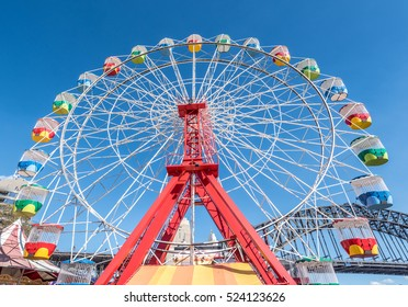 Ferris wheel at Sydney Luna Park