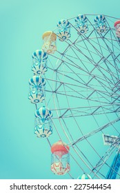 Ferris wheel - vintage effect style pictures