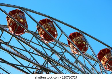 Ferris wheel in York, England.
