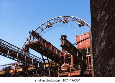 Ferris wheel of zeche zollverein Coal Mine Industrial Complex, Essen, Germany