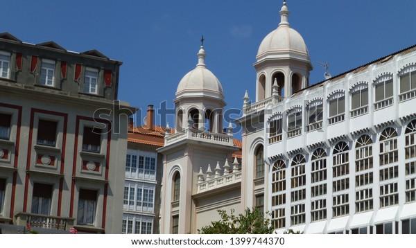 Ferrol, city of La Coruña. Galicia,Spain