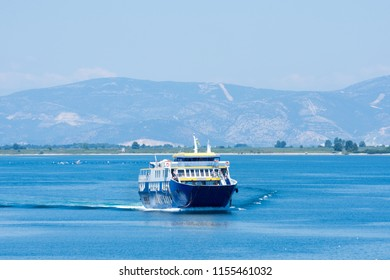 Ferry Boat Transporting People