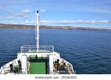 ferry crossing to the Isle of Skye in Scotland