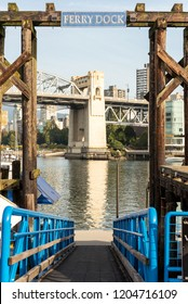 Ferry dock at Granville Island, Vancouver, BC