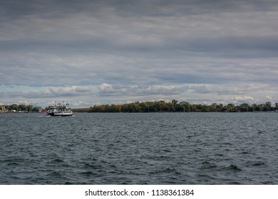 Ferry on lake Ontario