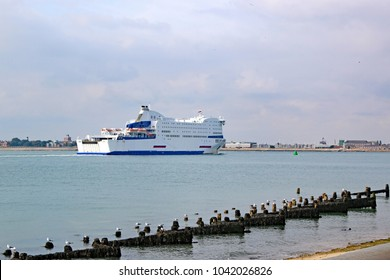 Ferry in Portsmouth Harbour