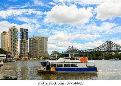 Ferry Service, Brisbane River, Australia
