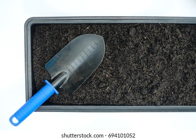 Fertile Soil with Shovel