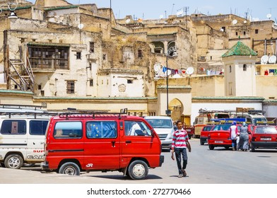 FES, Marocco, May 24, 2014:Life in the streets of medina town, Fes. Fes is a historic city listed in UNESCO. May 24, 2014,Fez, Morocco.