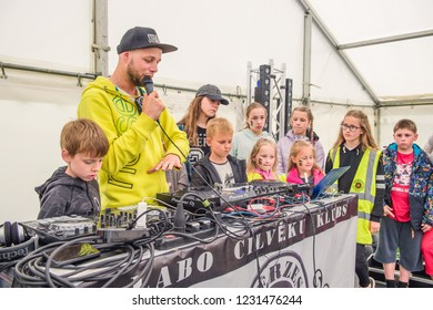 Festival DJ and kinds. Berzes strazdi Ligo festival. Catthorpe Manor Estate, Lilbourne Lane, Catthorpe. United Kingdom 15/06/2018