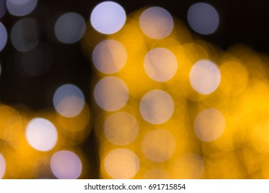 Festive bokeh background. Bright and colorful lights. Celebration atmosphere.