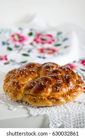 festive bread (karavay, kalach)