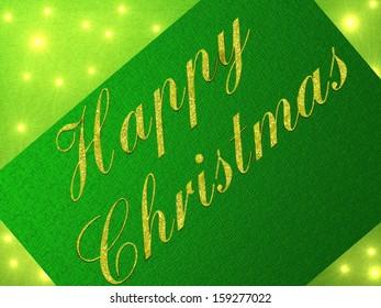 festive card