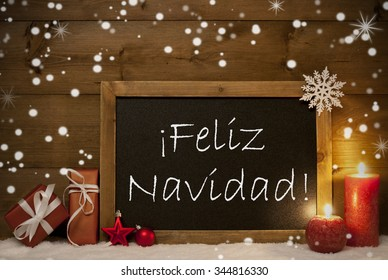 Merry Christmas In Spanish.Merry Christmas In Spanish Images Stock Photos Vectors