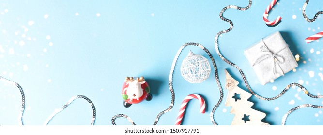 Festive Christmas and New Year banner for the site.